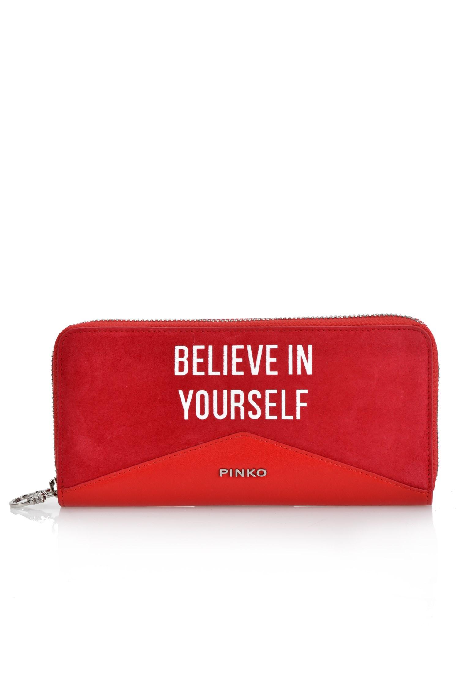 Red Ronfare wallet Pinko 8LDxNeldl