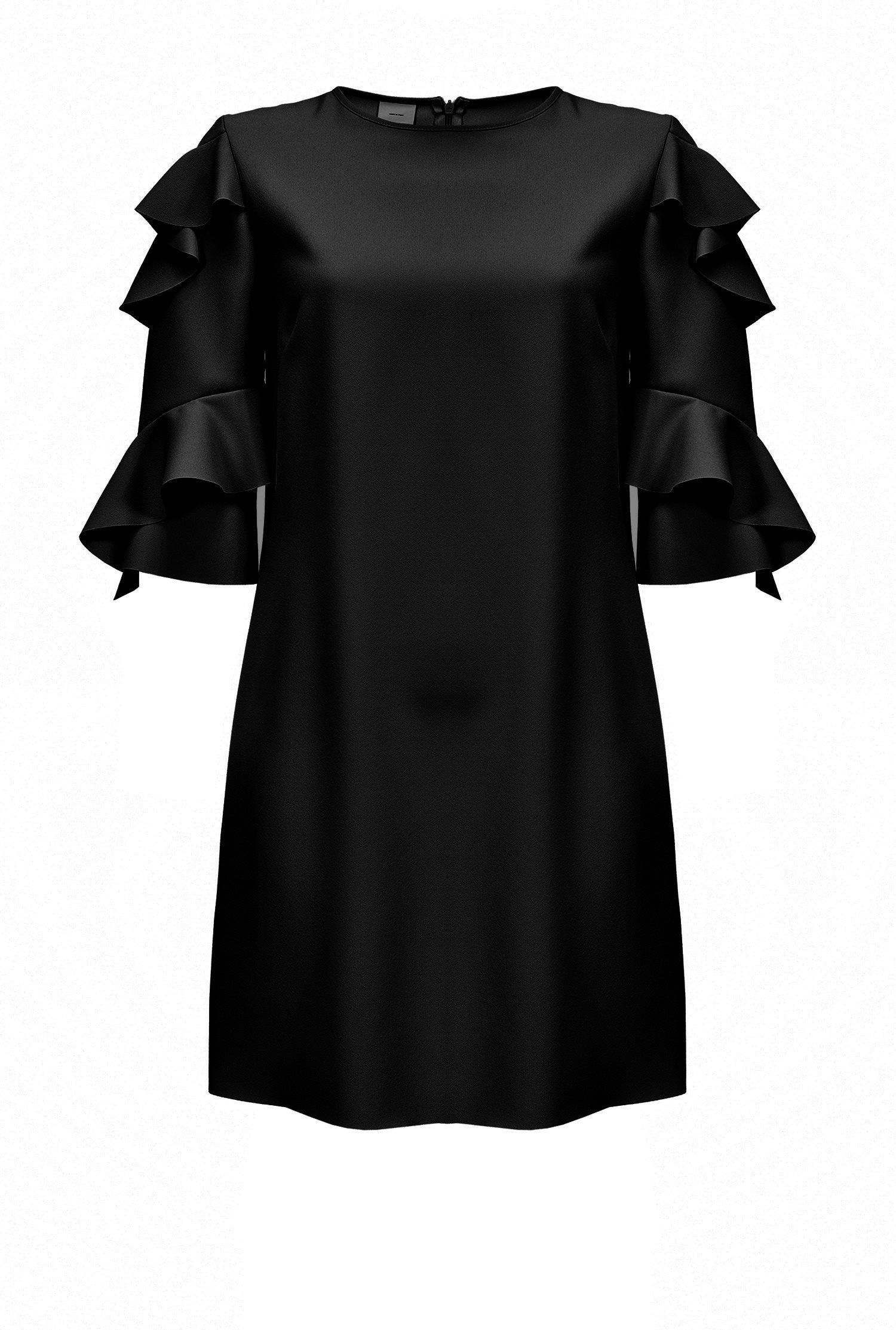 PINKO Spring-Summer 2018 women s crepe dress 4d2eea759fa7