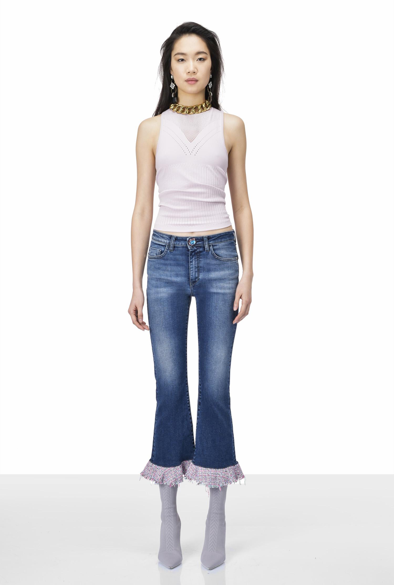 ff901388ea PINKO Spring-Summer 2018 women s denim trousers